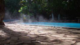 nascentes de água quente
